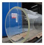 Tube plexiglas coulé incolore - Grande taille - Jusqu'à 1500 mm de Ø