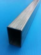 Tube rectangle en acier galvanisé - Profilé creux à couche protectrice zinguée