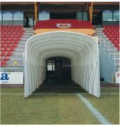 Tunnel d'accès terrain