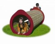 Tunnel de jeu pour enfants - Dimensions (L x P x H) cm : 90 x 200 x 90