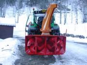 Turbine à neige pour déneigeuse - Rendement : 12 T/CV/h