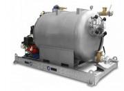 Unité d'aspiration et de lavage avec réservoirs grandes capacités - Capacités réservoirs : 800 et 1000 l (2000 l sur demande)