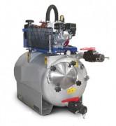 Unité professionnelle d'aspiration et de lavage industriel - Dimensions (L x l x H) : 70 x 144 x 144 cm