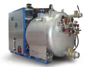 Unité d'aspiration industrielle avec système de lavage haute pression - Dimensions (L x l x H) : 100 x 158 x 165 cm