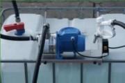 Unité de pompage vide container adblue - Spécialement conçu pour des applications IBC