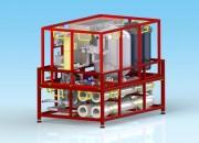 Unité de potabilisation transportable - L'unité produit entre 1 et 5m3/h