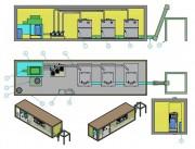 Unité de traitement bio déchets - Capacité : De 1 tonne à 50 tonnes par jour