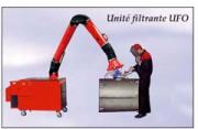 Unité mobile d'aspiration - Unité filtrante
