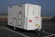 Unité mobile de décontamination anti amiante