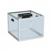Urne électorale transparente réglementaire - Dimensions disponibles  : 400 x 400 x 320/420/520 mm