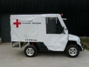 Utilitaire électrique premiers secours - Permis obligatoire 4 roues motrices