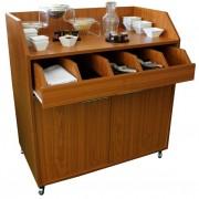 Vaisselier de brasserie bas - Dimensions (L x P x H) cm : 98 x 55 x 105