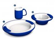 Vaisselle isotherme - Fonction isotherme assurée par la double paroi