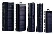 Valise à roulettes grandes dimensions - Dimensions intérieures (L x l x H) mm : de 933 x 305 x 207 à 1264 x 508 x 349
