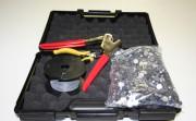 Valise Kit de Plombage - 1 bobine de fil perlée - 1 pince à plomber - 1 pince coupante