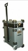 Valise malette antichoc - Châssis 19 pouces suspendu - En acier traité