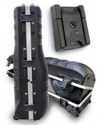 Valise polyéthylène pour sac de golf - Dimensions intérieures (L x l x H) : 1200 x 410 x 270 mm