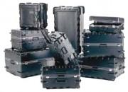 Valise thermoformée à roulettes - Dimensions intérieures (L x l x H) mm : De 368 x 333 x 194 à 927 x 546 x 463
