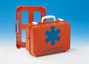 Valisette de premiers secours d'urgence - Dimensions : 250 x 185 x 83 mm.