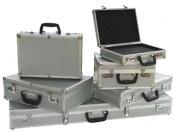 Valisette de protection aluminium - Dimensions extérieures (L x l x H) mm : De 328 x 228 x 82 à 1018 x 318 x 112
