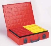 Valisette plastique à godets - L: 440 x H: 100 x P: 330