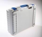 Valisette plastique cadre renforcé - Dimensions extérieures (L x l x H) mm : De 300 x 275 x 82 à 665 x 562 x 250