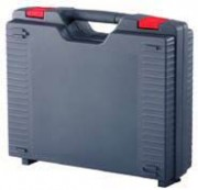 Valisette plastique simple paroi - Dimensions extérieures (L x l x H) mm : de 229 x 199 x 55 à 497 x 411 x 160