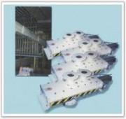 Vannes anti-abrasion pour manutention industrie - Capacité de pression : 6 bars