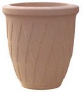 Vases Grandsud en marbre blanc diamètre 38
