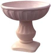 Vasques Grandsud en gravillon lavé diamètre 76 - Coupe réf 113E diamètre Ø 76