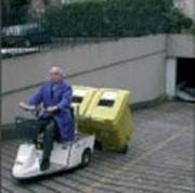 Véhicule de traction de container - Charge totale : 300 kg maximum