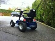 Véhicule électrique 4 roues - Tracteur Micro