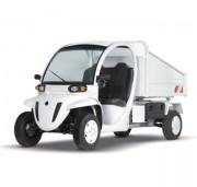 Vehicule electrique avec benne - Capacité de charge (kg) : 550