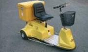 Véhicule électrique de maintenance - Charge totale : 300 kg maximum