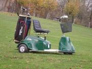 Véhicule électrique golf - Capacité de franchissement de 75%