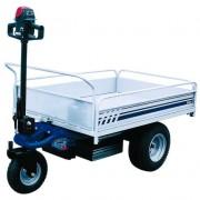 Véhicule électrique pour traction et charge - Manutention, charge