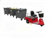 Véhicule électrique terrain plat 1500 Kg - Traction jusqu'à 1500 Kg -  Charge jusqu'à 300 Kg
