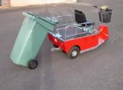 Véhicule électrique tracte conteneurs - Capacité maximale supportée : 1500 kg