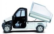Véhicule électrique utilitaire 4 roues - Vitesse maxi : 45 km/h