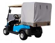 Véhicule électrique utilitaire avec caisson arrière bâché - Utilitaire électrique éco-responsable, batterie lithium