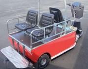 Vehicule utilitaire électrique de passagers - Capacité jusqu'à 6000 Kg