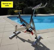 Vélo aquatique pour eau salée - Dimensions (L x l x H) m : 1.6 x 0.6 x 1.1/1.4