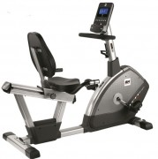 Vélo assis avec appui lombaire pour cardio training  - Vélo incliné avec moniteur LCD rétro-éclairé