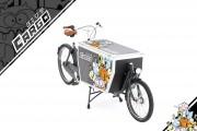Vélo biporteur marchandises - Sur mesure