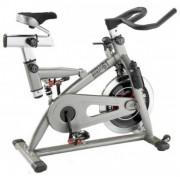 Vélo d'appartement semi- pro - Roue d'inertie : 23 kg