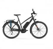 Vélo électrique speed bike - Moteur pédalier central  -  Nb de vitesses : 10