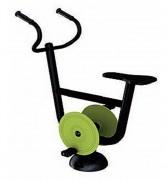 Vélo fitness extérieur - Dimensions (L x l x h) : 105 x 48 x 118 cm