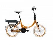 Vélo pliable électrique - Marque  moteur : O2feel OES    -   Vitesse max : 25 km/h