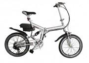 Vélo pliant électrique alu - Autonomie moyenne: 35 à 70Km