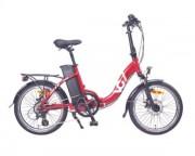 Vélo pliant électrique cadre alu - Autonomie : 75 Km - Shimano Altus 7 vitesses